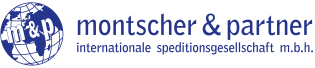 m&p montscher und partner internationale speditionsgesellschaft m.b.h. Logo
